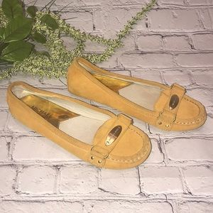 Michael Kors women's Yellow shoes flats sz 6